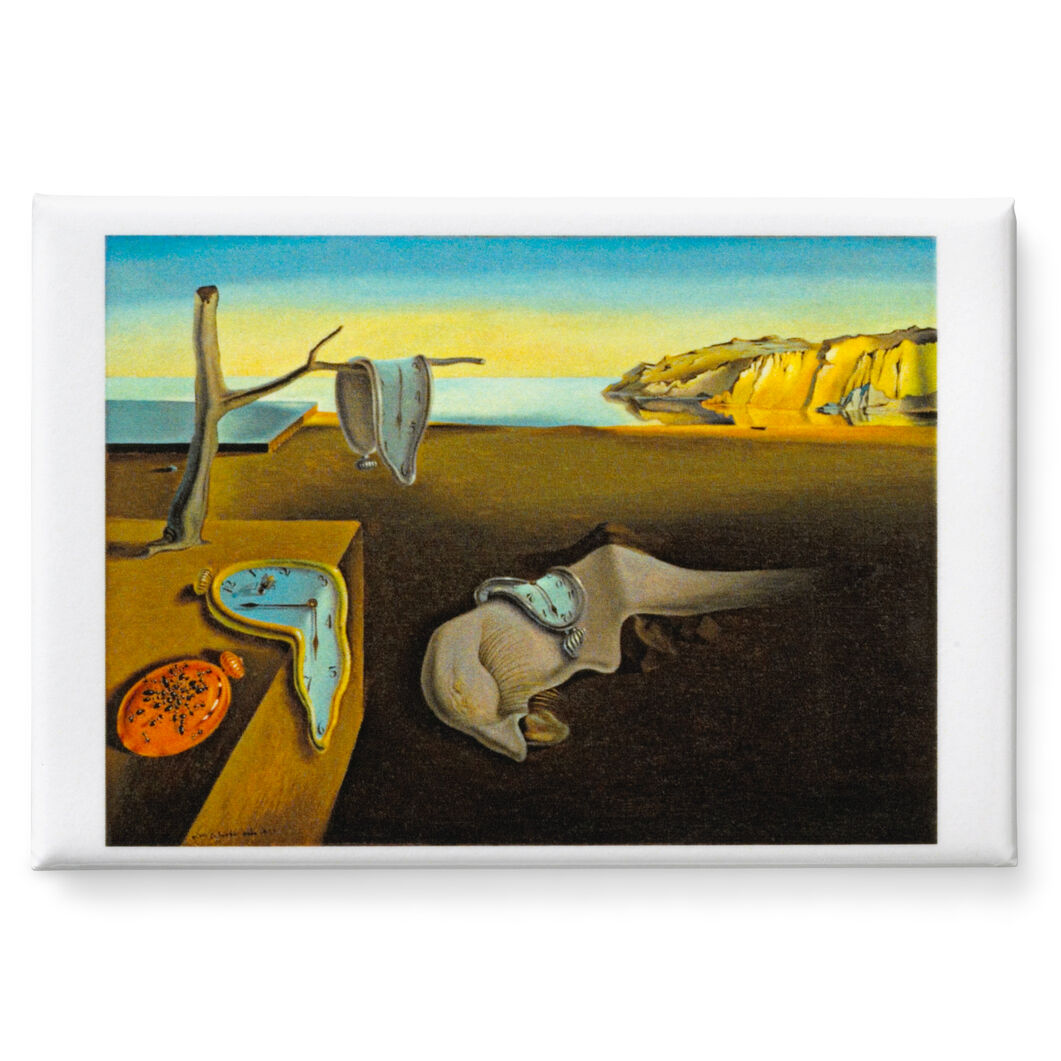 Dalí: The Persistence of Memory Magnet in color