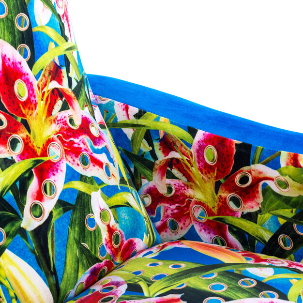 Seletti Wears Toiletpaper: Flowers Armchair in color