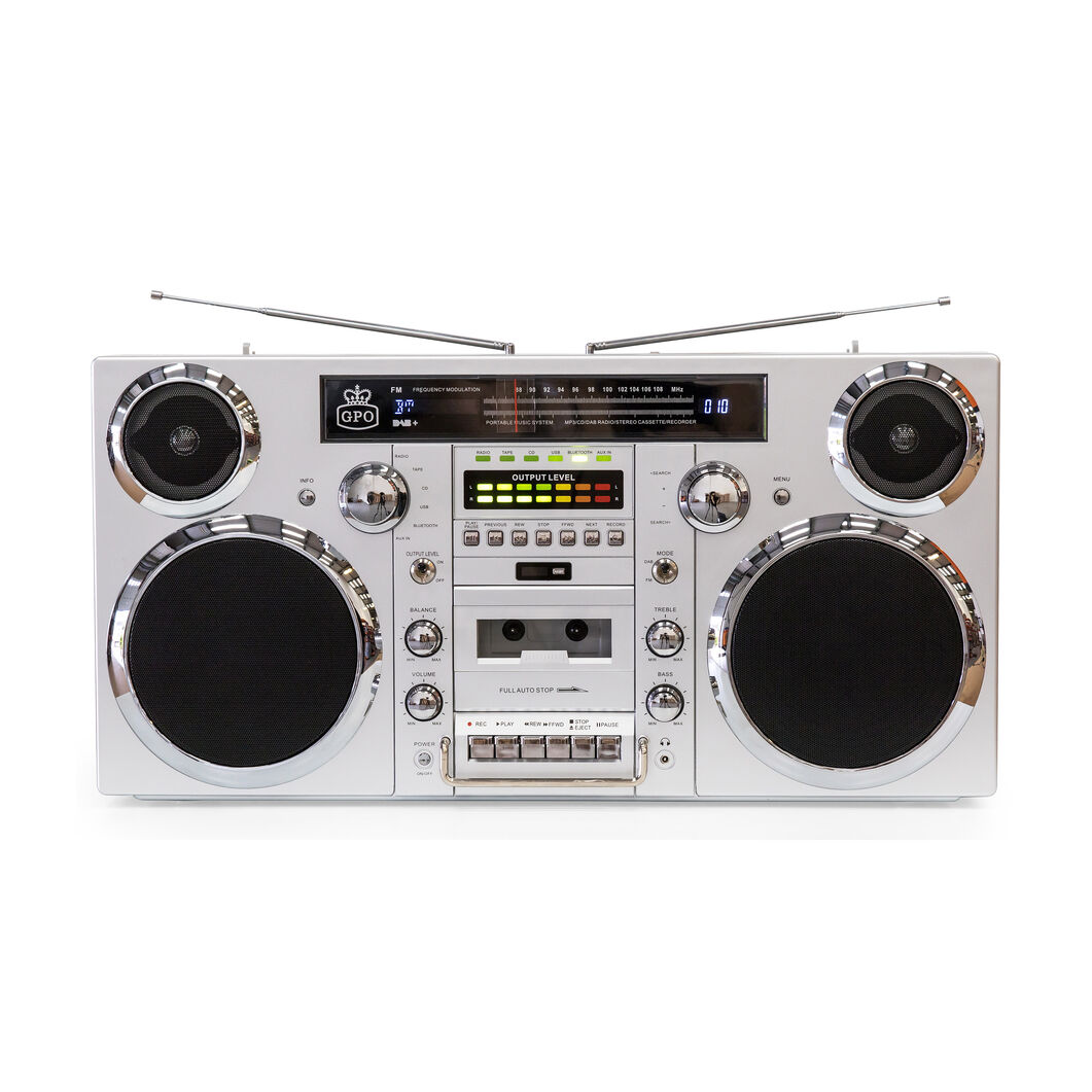 Brooklyn Boombox in color