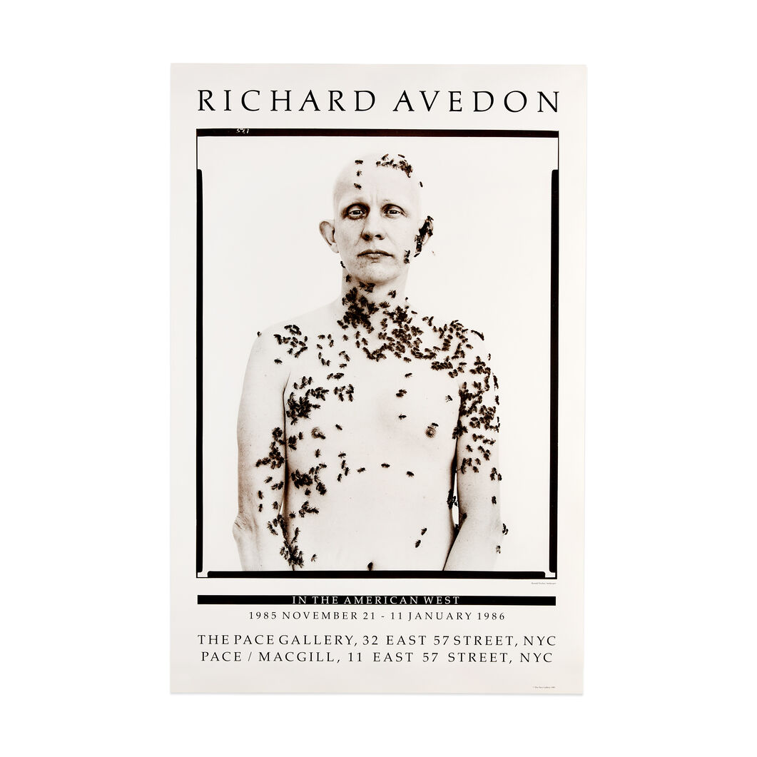 Richard Avedon: Untitled Poster in color