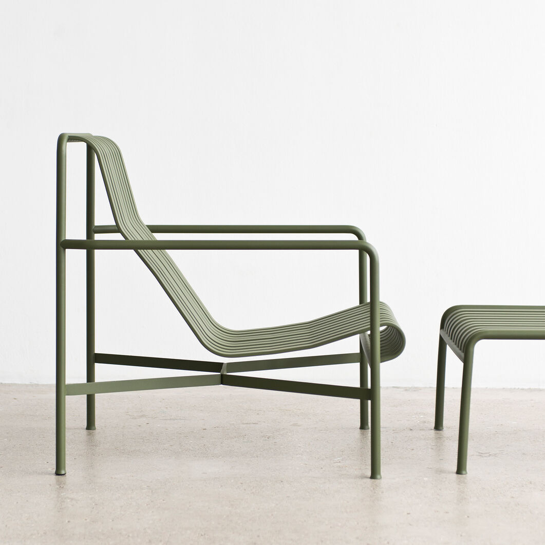 moma furniture. hay palissade outdoor lounge chair high in color moma furniture