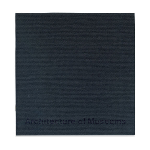 The Architecture of Museums - Paperback in color