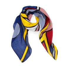Roy Lichtenstein: Bolt Scarf in color