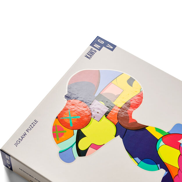 KAWS Jigsaw Puzzle - 1,000 Pieces in color Home
