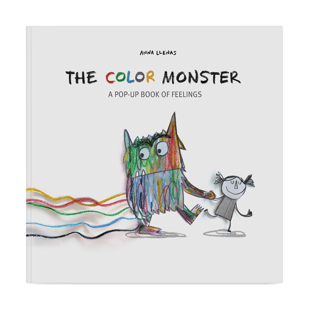 The Color Monster: A Pop-Up Book of Feelings in color