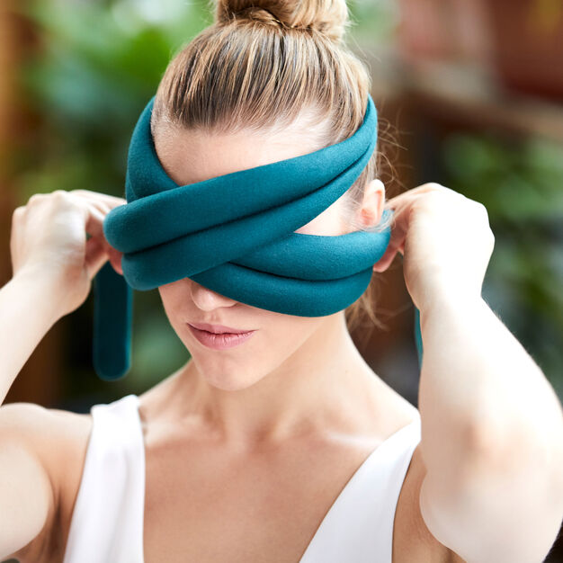 Ostrich Loop Travel Eye Pillow in color