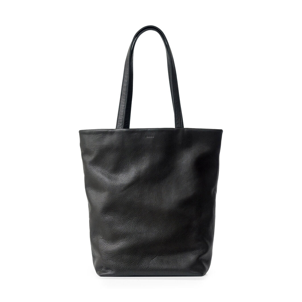 BAGGU Basic Black Tote in color