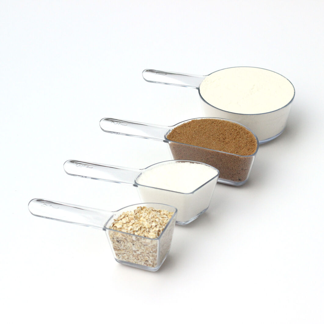 Visual Measuring Cups in color