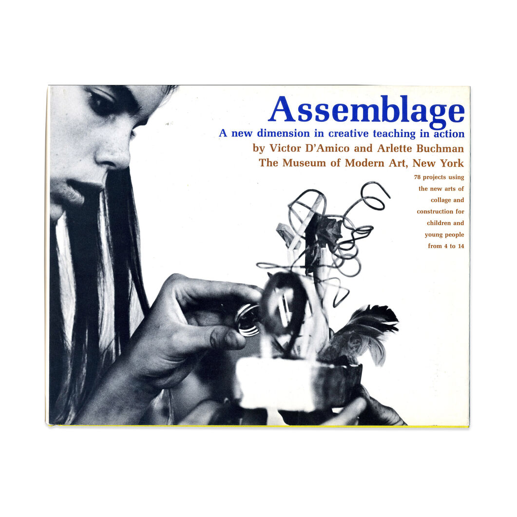Assemblage A New Dimension in creative Teaching in Action - Hardcover in color