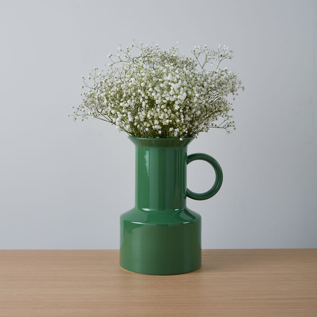 Panto Vase in color Green