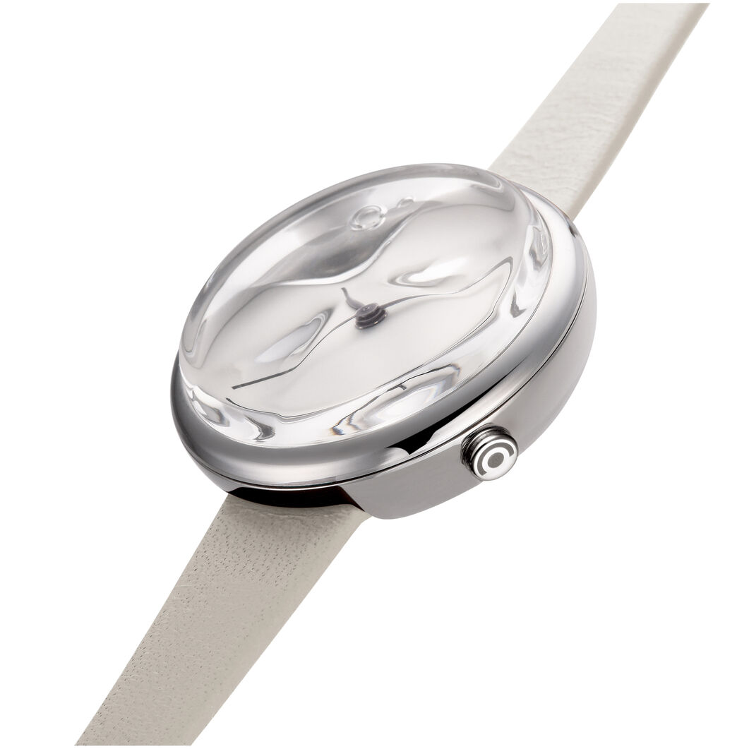 Icicle Watch in color White