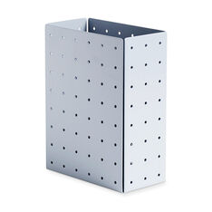 HAY Punched Organizer Holder in color Sky Blue