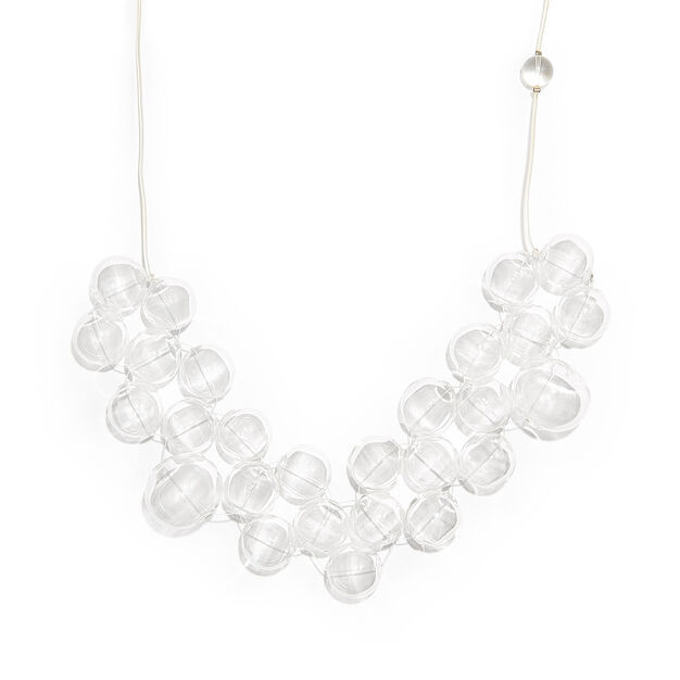 Bubble Necklace in color Transparent
