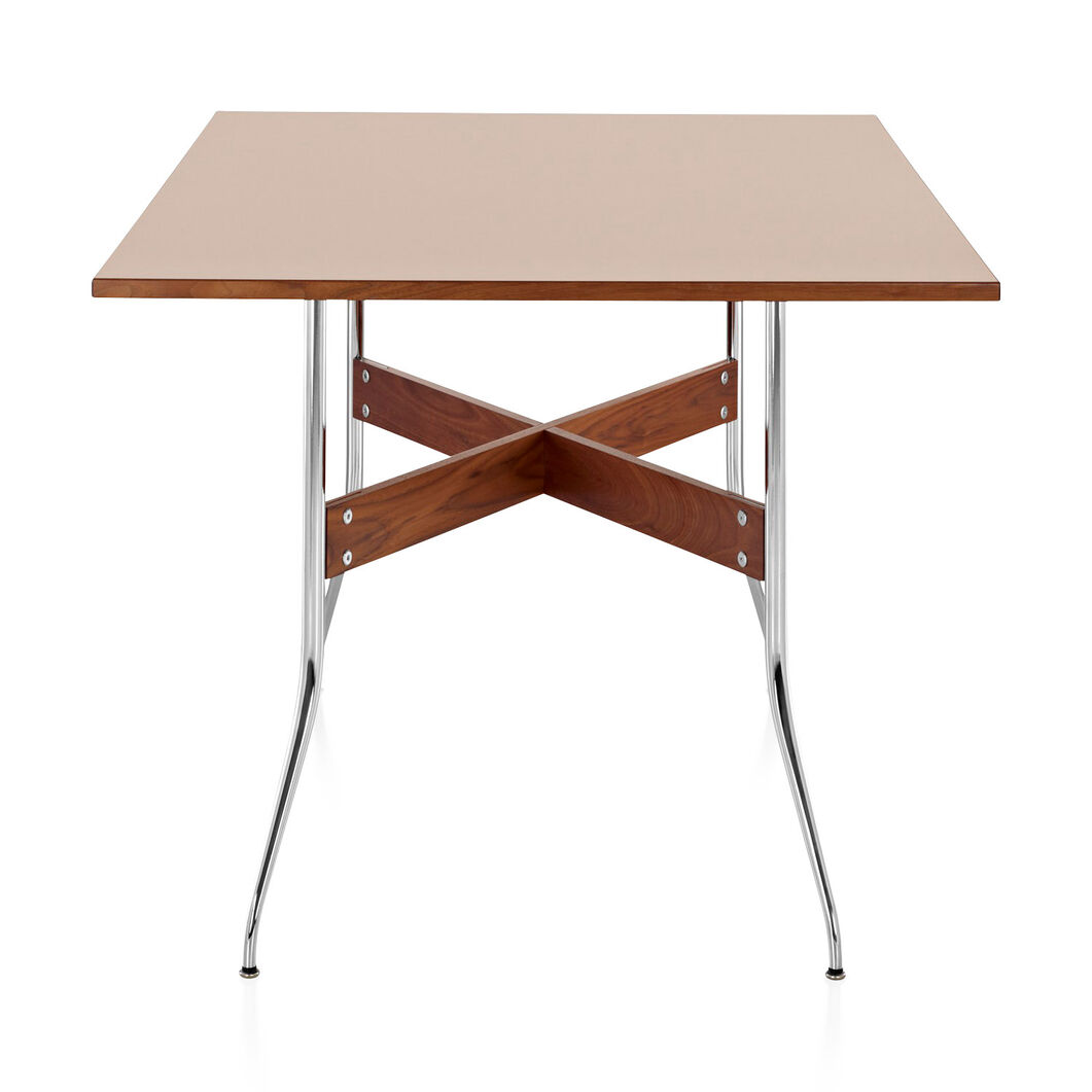 George Nelson™ Swag Leg Rectangular Top Table in color