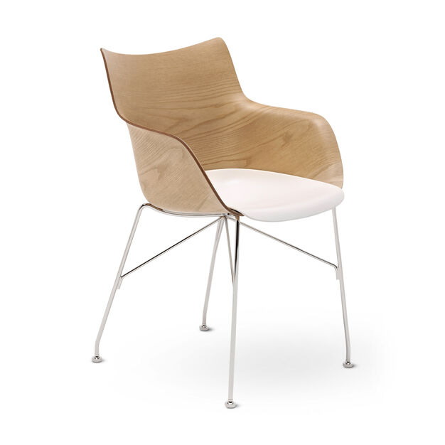 Q/Wood Armchair in color