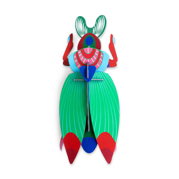 3D DIY Decorative Beetles in color Giant Scarab