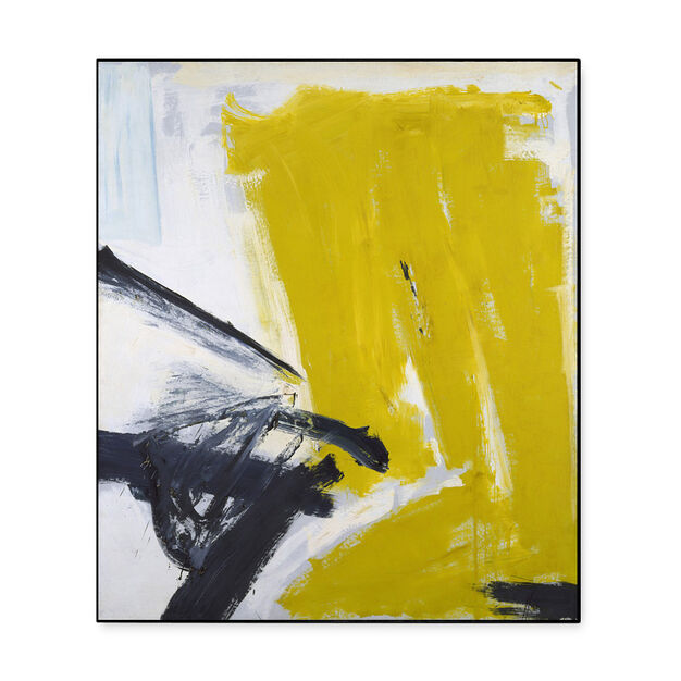 Kline: Zinc Yellow Framed Print in color