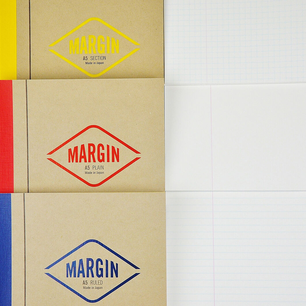 Life Margin Blank Notebook in color