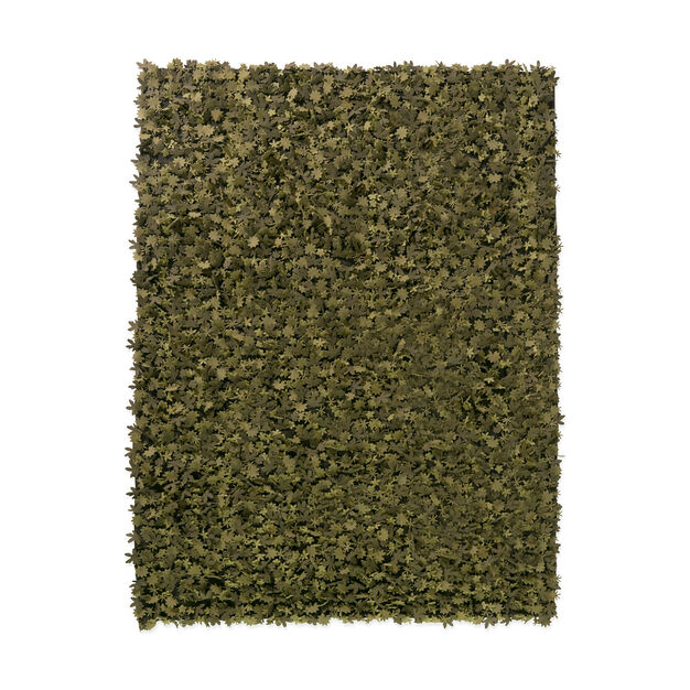 Nanimarquina Little Field of Flowers Rug in color Green