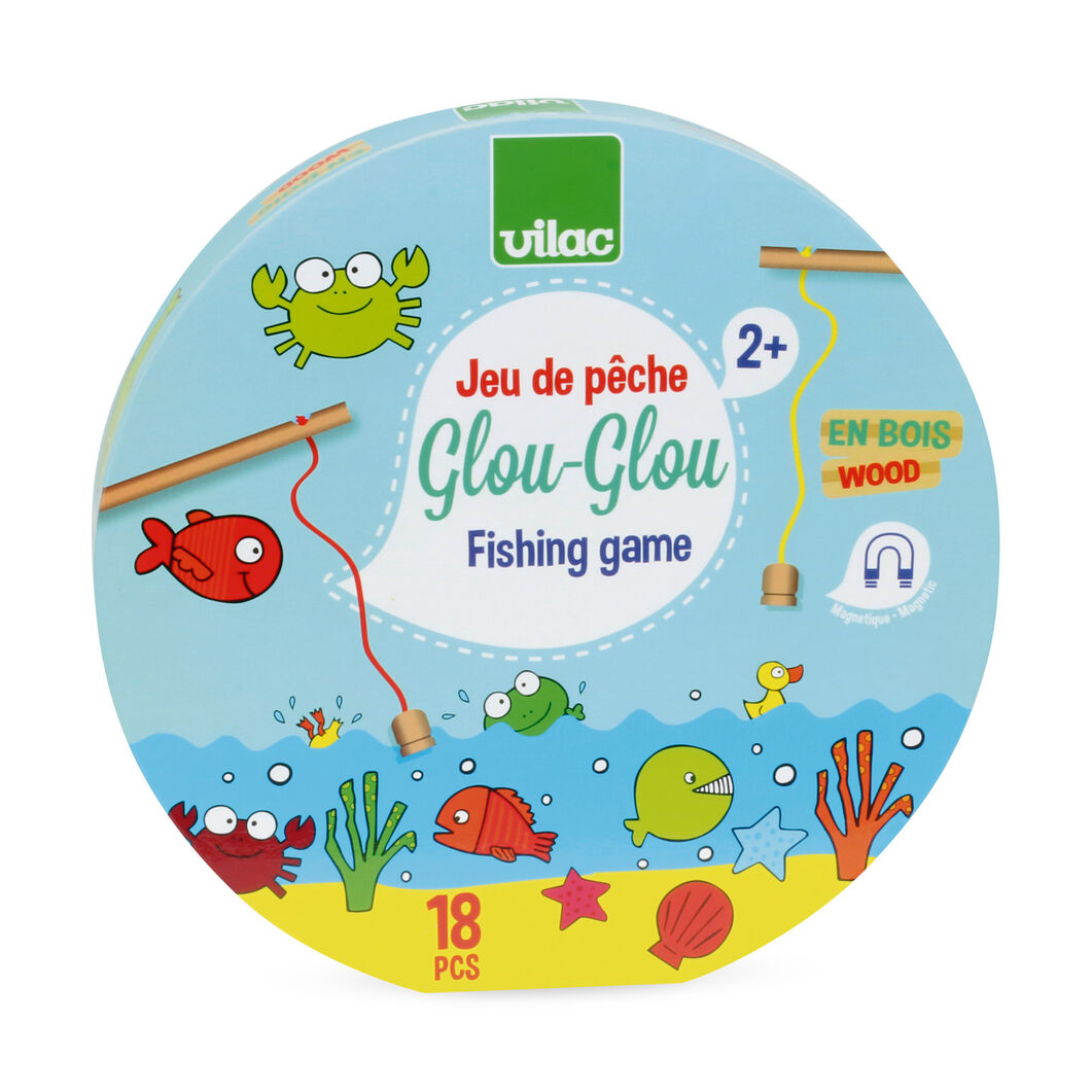 Glou Glou Fishing Game in color
