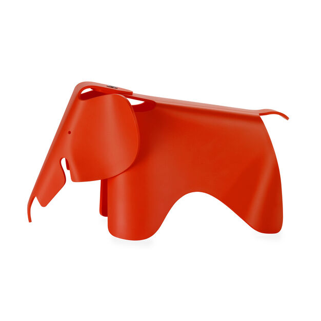 Colorful Eames®Elephant in color Red