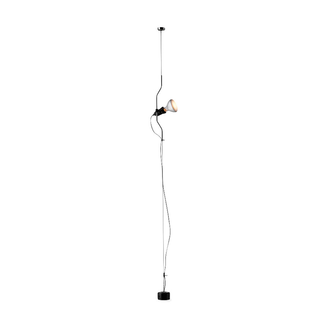 Flos Parentesi Cable Floor Light in color Black