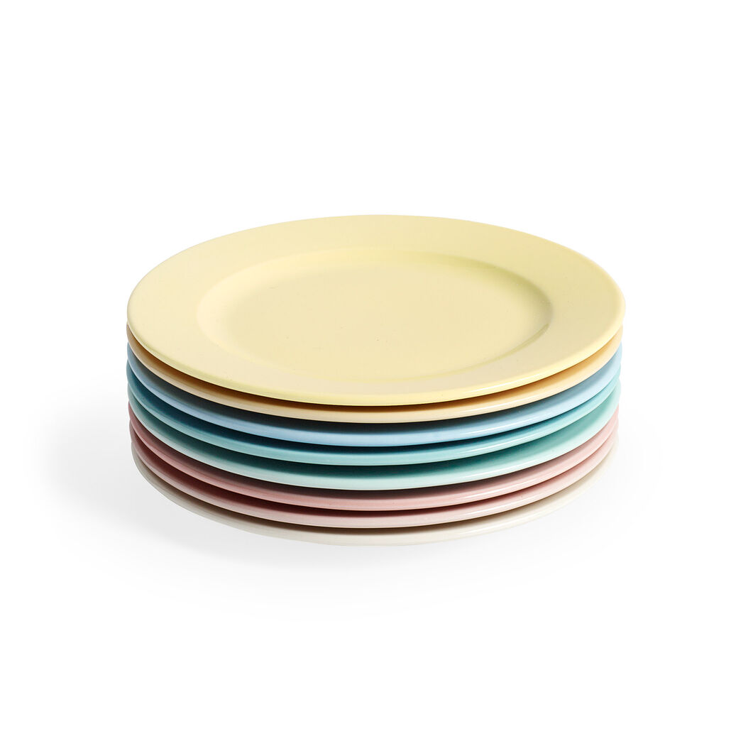 HAY Rainbow Plate in color Turquoise