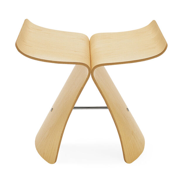 Butterfly Stool in color Maple