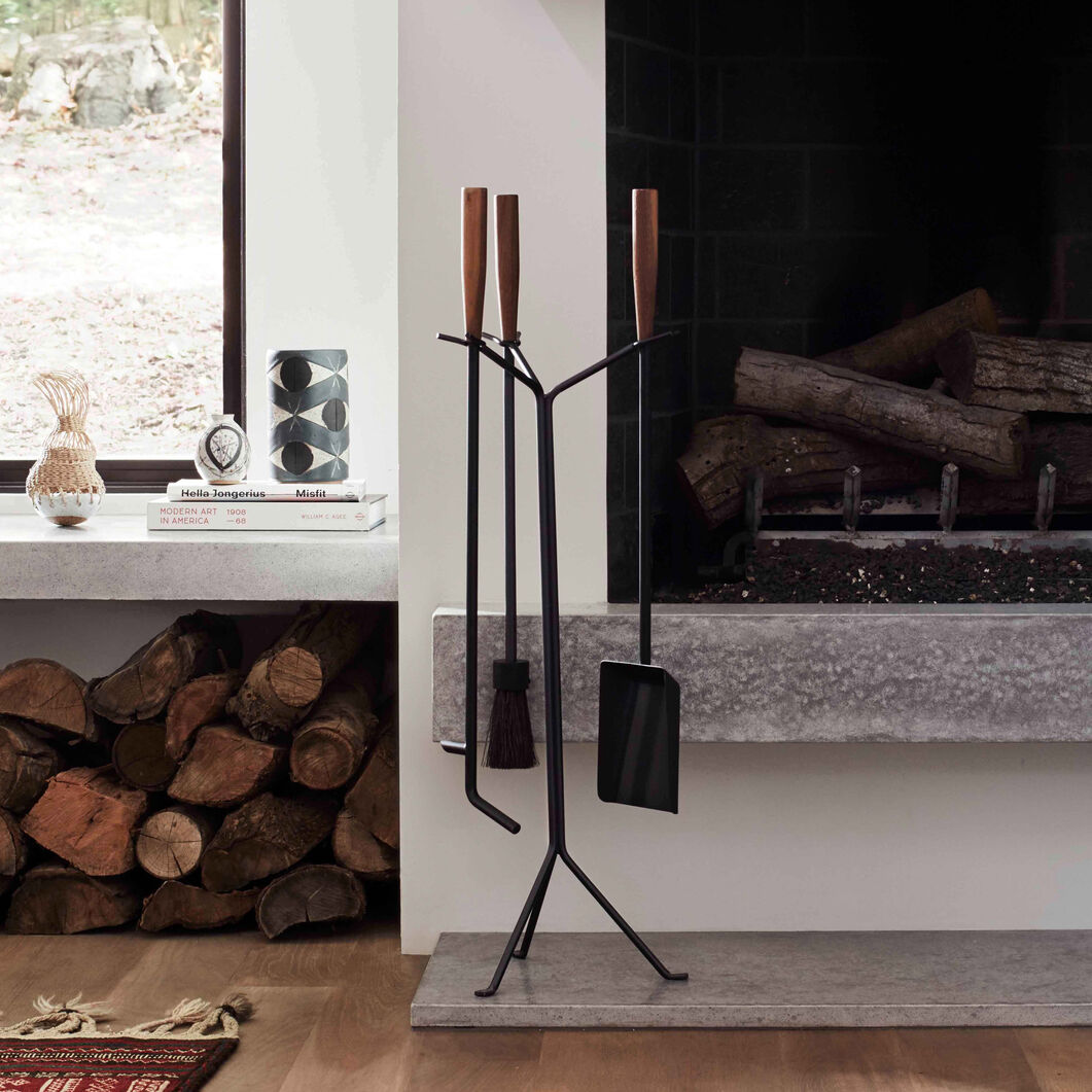 George Nelson™ Fireplace Tool Set in color