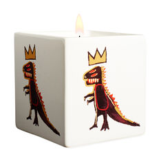 Basquiat Gold Dragon Candle in color