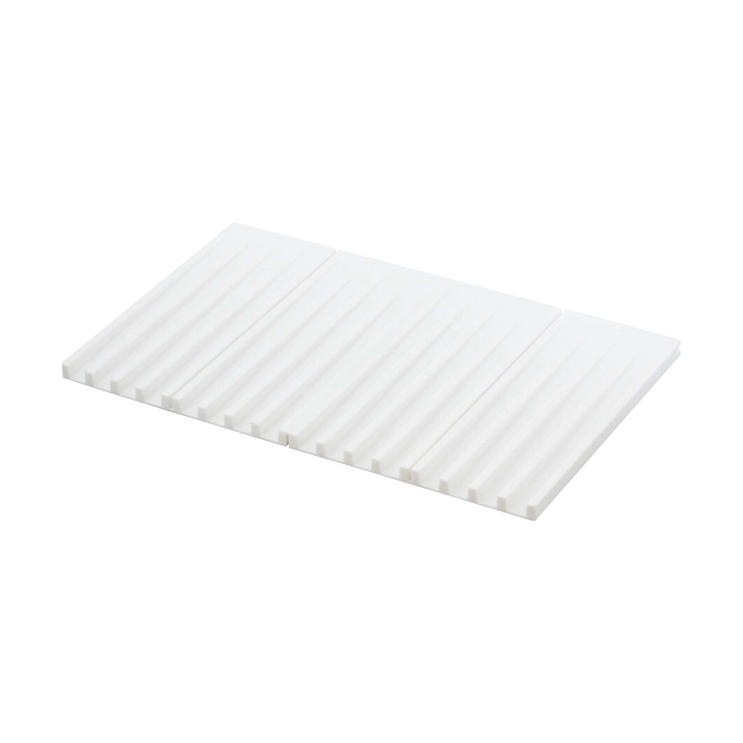Foldable Silicone Drainer Tray in color