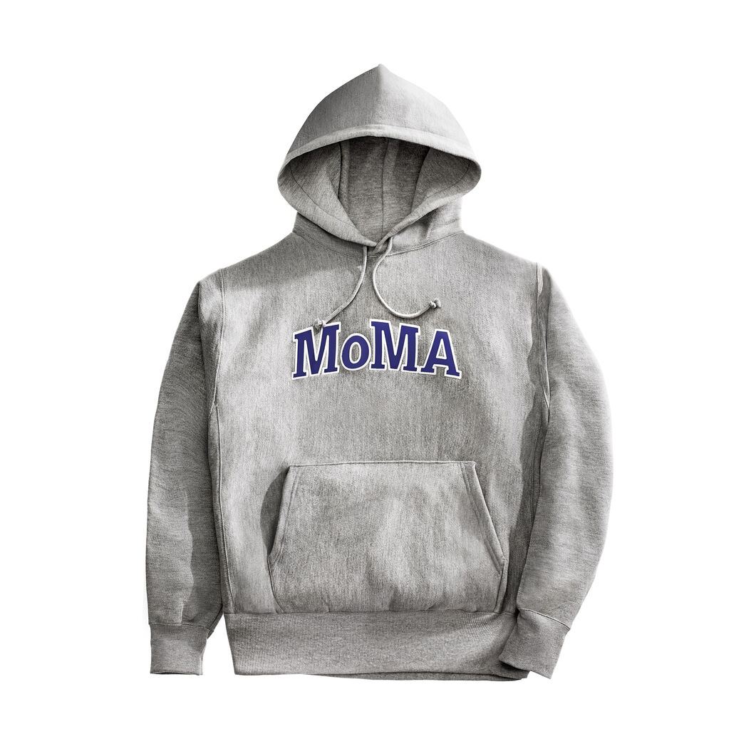 champion hoodie moma edition moma design store. Black Bedroom Furniture Sets. Home Design Ideas