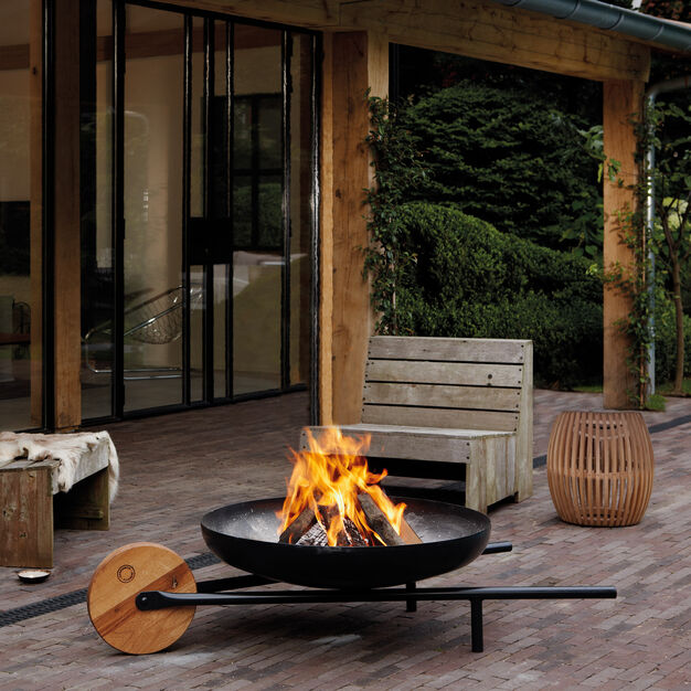 Barrow Fire Pit in color
