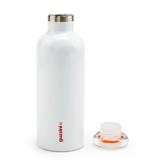Guzzini Energy Water Bottle in color White