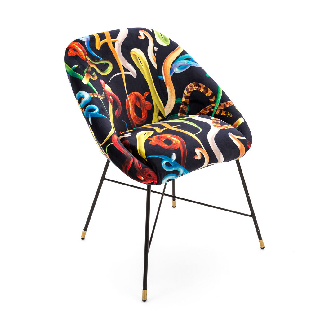 Seletti Wears Toiletpaper: Snakes Chair in color