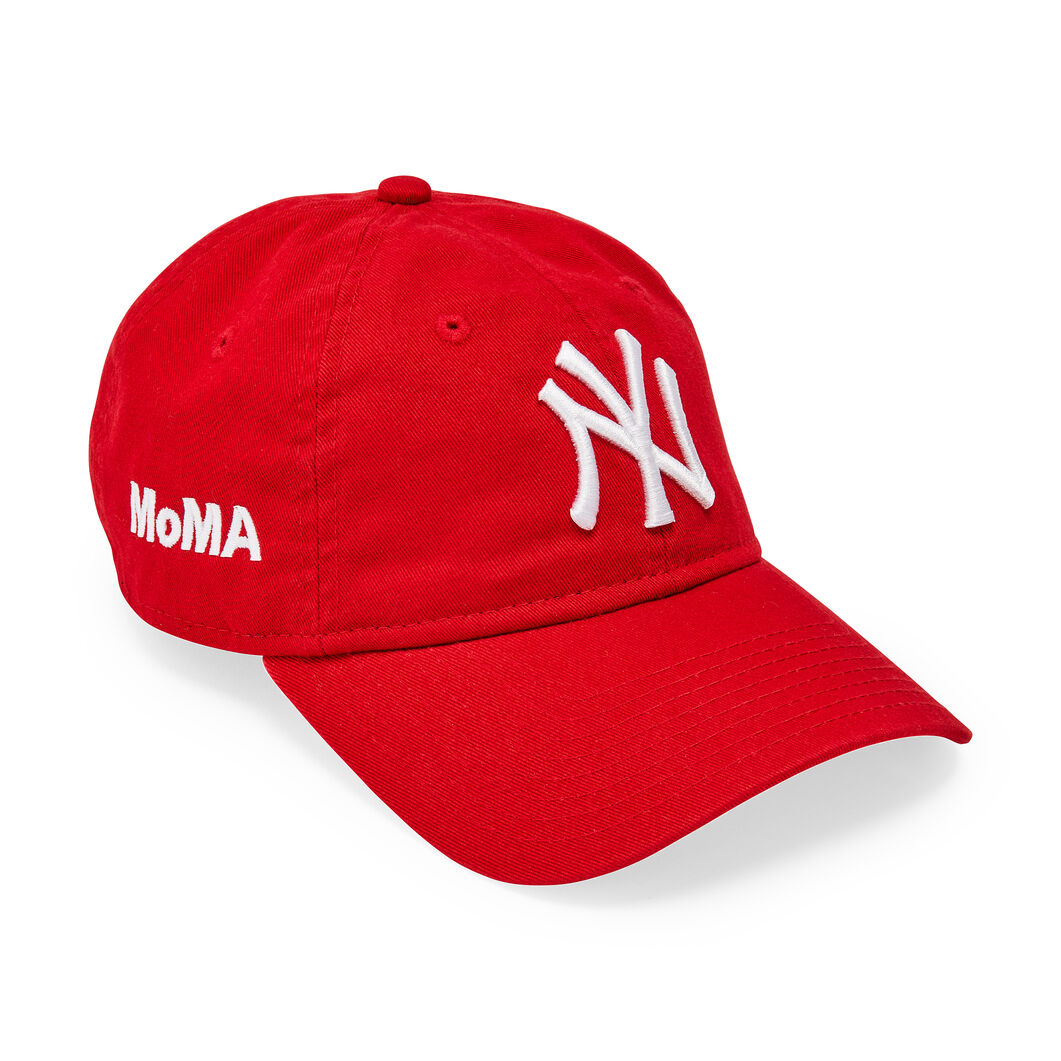 NY Yankees Cap in color Scarlet e371f75f167