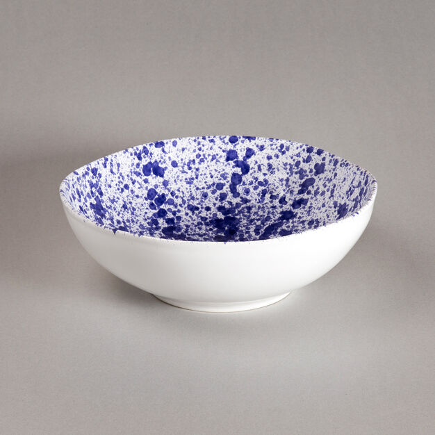 Sicilian Ceramic Salad Bowl in color Blue