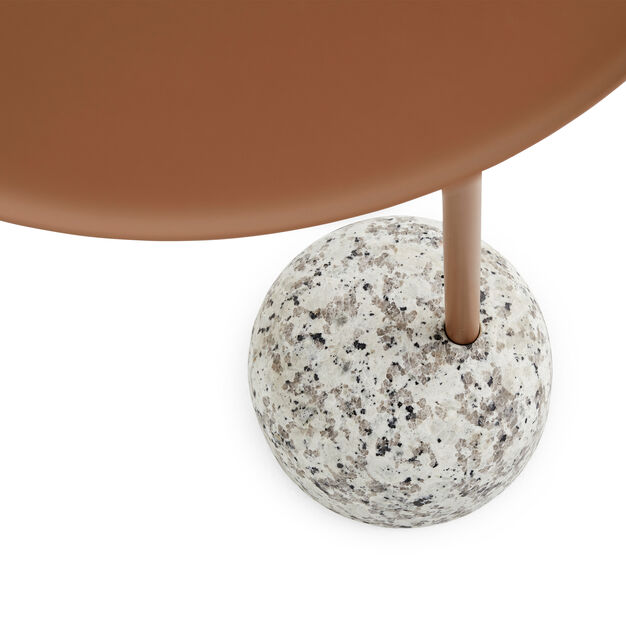 HAY Bowler Table in color Brown