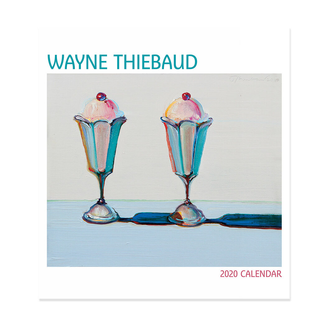 2020 Wayne Thiebaud Wall Calendar in color