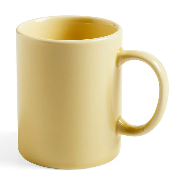HAY Rainbow Porcelain Mugs in color Light Yellow