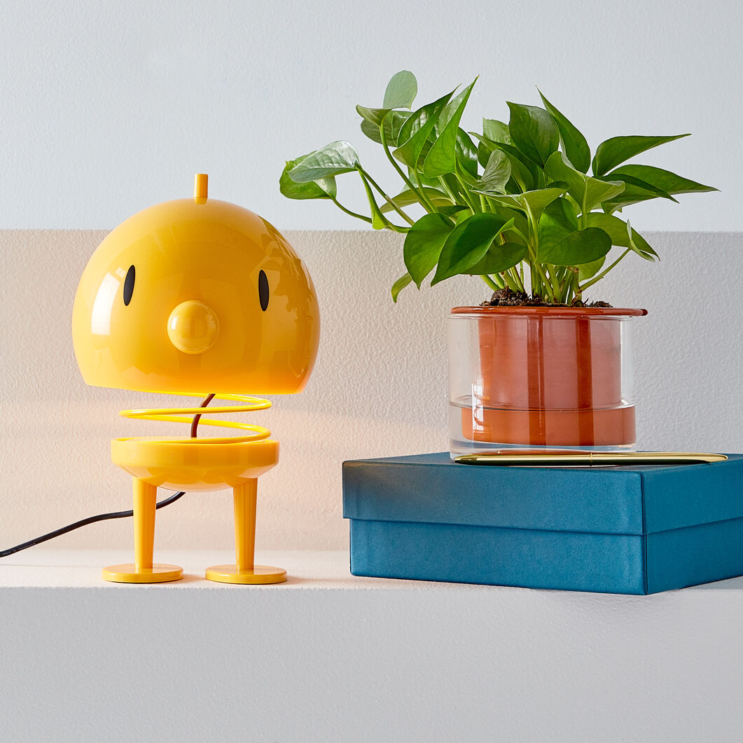 X-Large Bumble Hoptimist Lamp in color Yellow