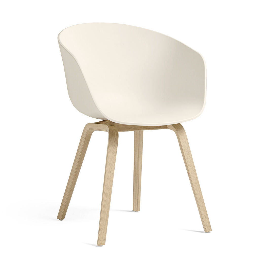 HAY About a Chair 22 in color Cream White/ Oak