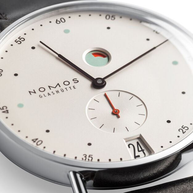 Nomos Metro Power Reserve Mechanical Watch in color