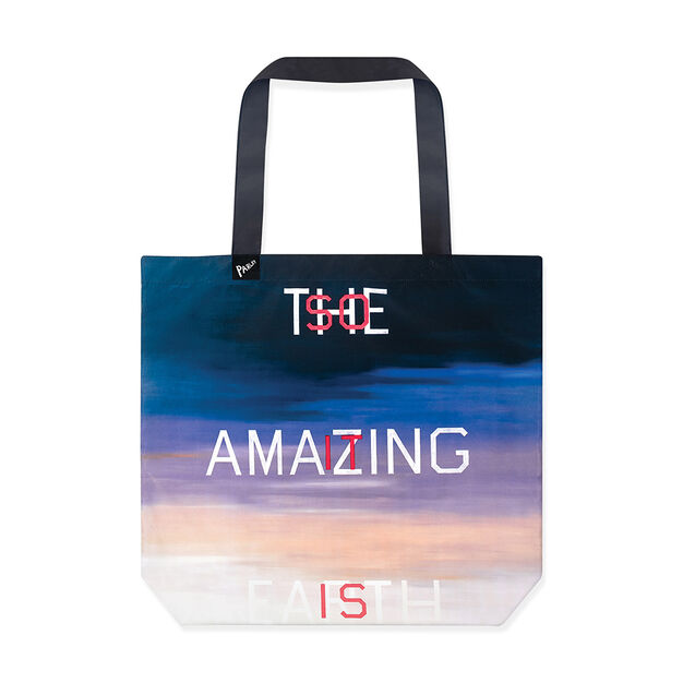 Ed Ruscha Parley for the Oceans Tote in color
