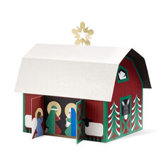 Countryside Nativity Holiday Cards - Set of 8 in color