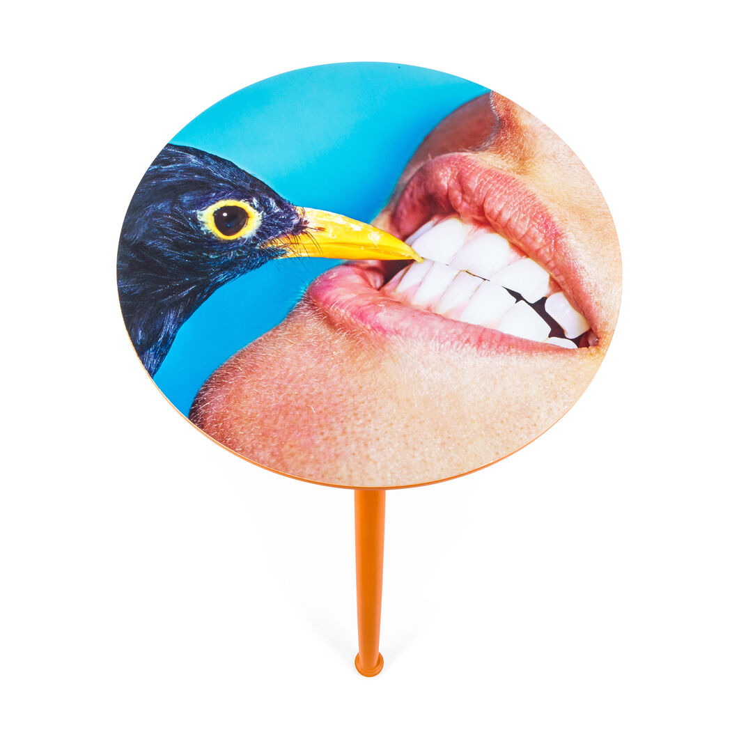 Seletti Wears Toiletpaper: Crow Table in color