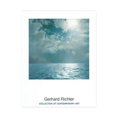 Gerhard Richter: Seascape Poster in color