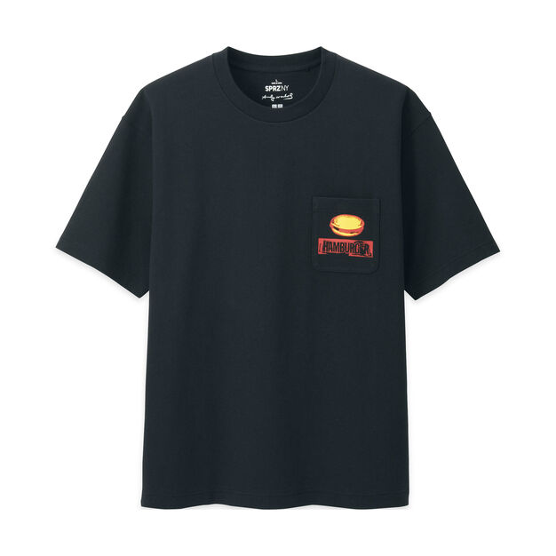 UNIQLO Andy Warhol Burger T-Shirt in color