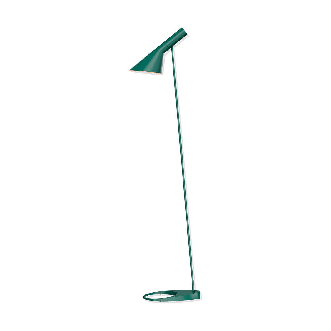 AJ Floor Light in color Dark Green