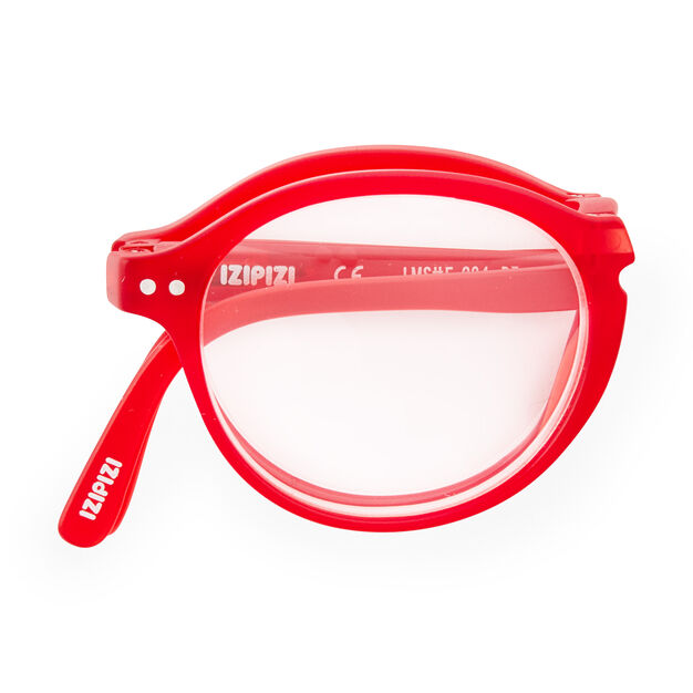 IZIPIZI Foldable Glasses in color Red